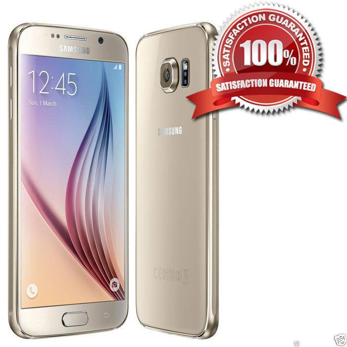 Samsung Galaxy S6 SM-G920F 32GB - Gold Platinum (Unlocked) Smartphone B++ GRADE