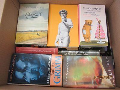 61 Bücher Hardcover Romane Sachbücher verschiedene Themen