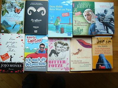 38 Frauenromane, Konvolut, Sammlung, Bücherkiste