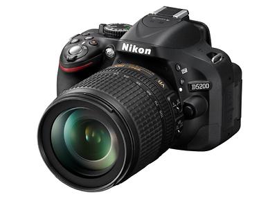 Nikon D D5200 - AF-S DX 18-105mm - Schwarz OVP + Blitz