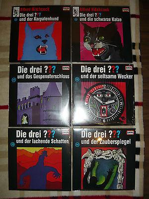 Die drei Fragezeichen ??? Sammlung LP Vinyl Schallplatte Picture Vinyl 8 Stück
