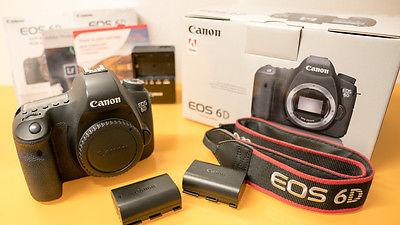Canon EOS 6D 20.2 MP SLR-Digitalkamera (Body)
