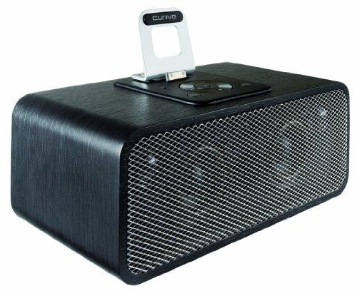 Curve 90° classic Soundsystem für Apple iPhone/iPod schwarz