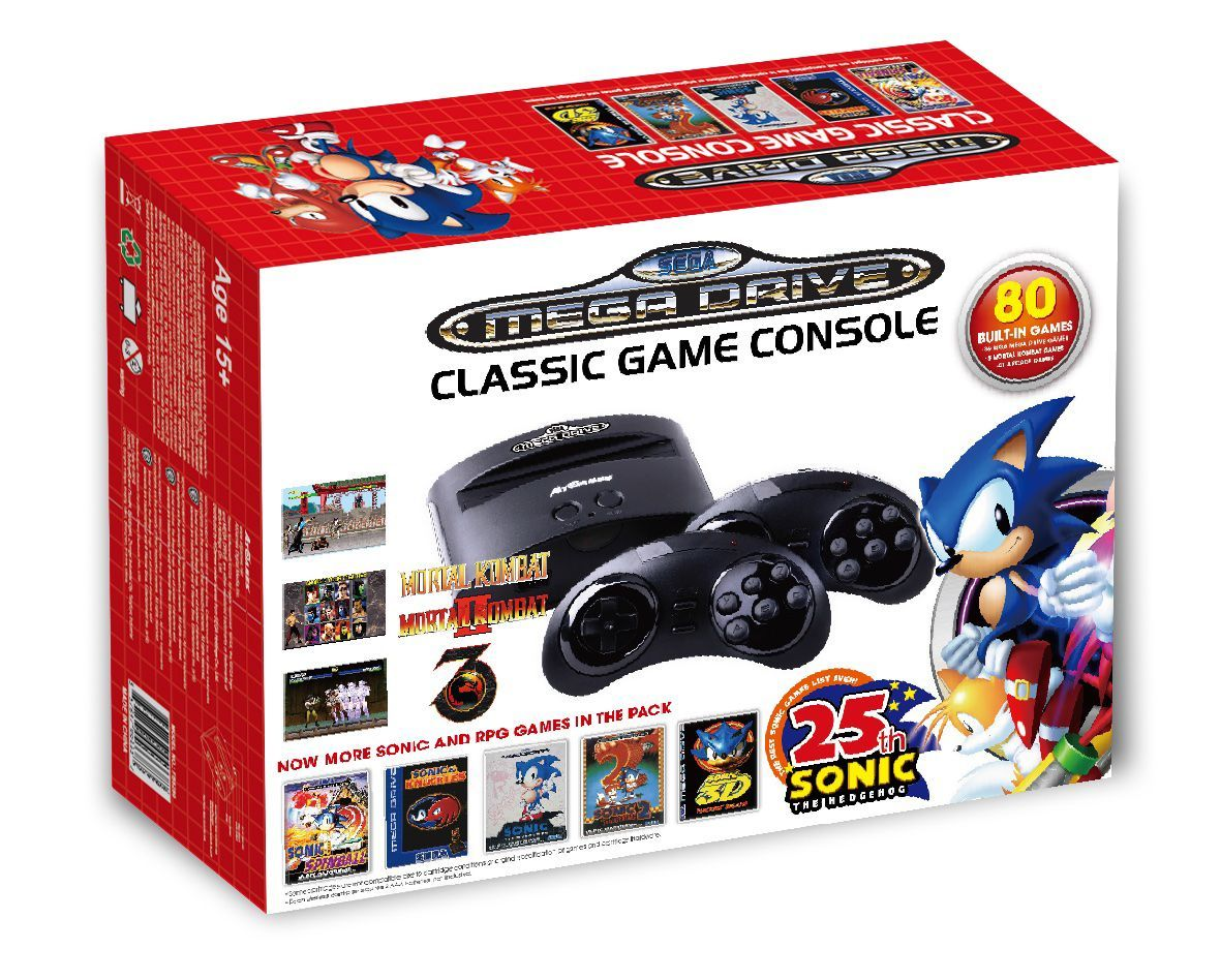 Sega Megadrive, mega drive, Classic 80 Games Retro Console, tracked delivery!