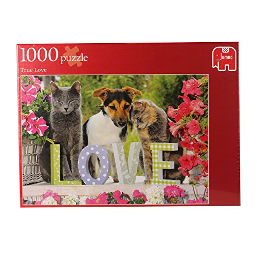 Jumbo 17043 - Wahre Liebe Puzzle, 1000 Teile