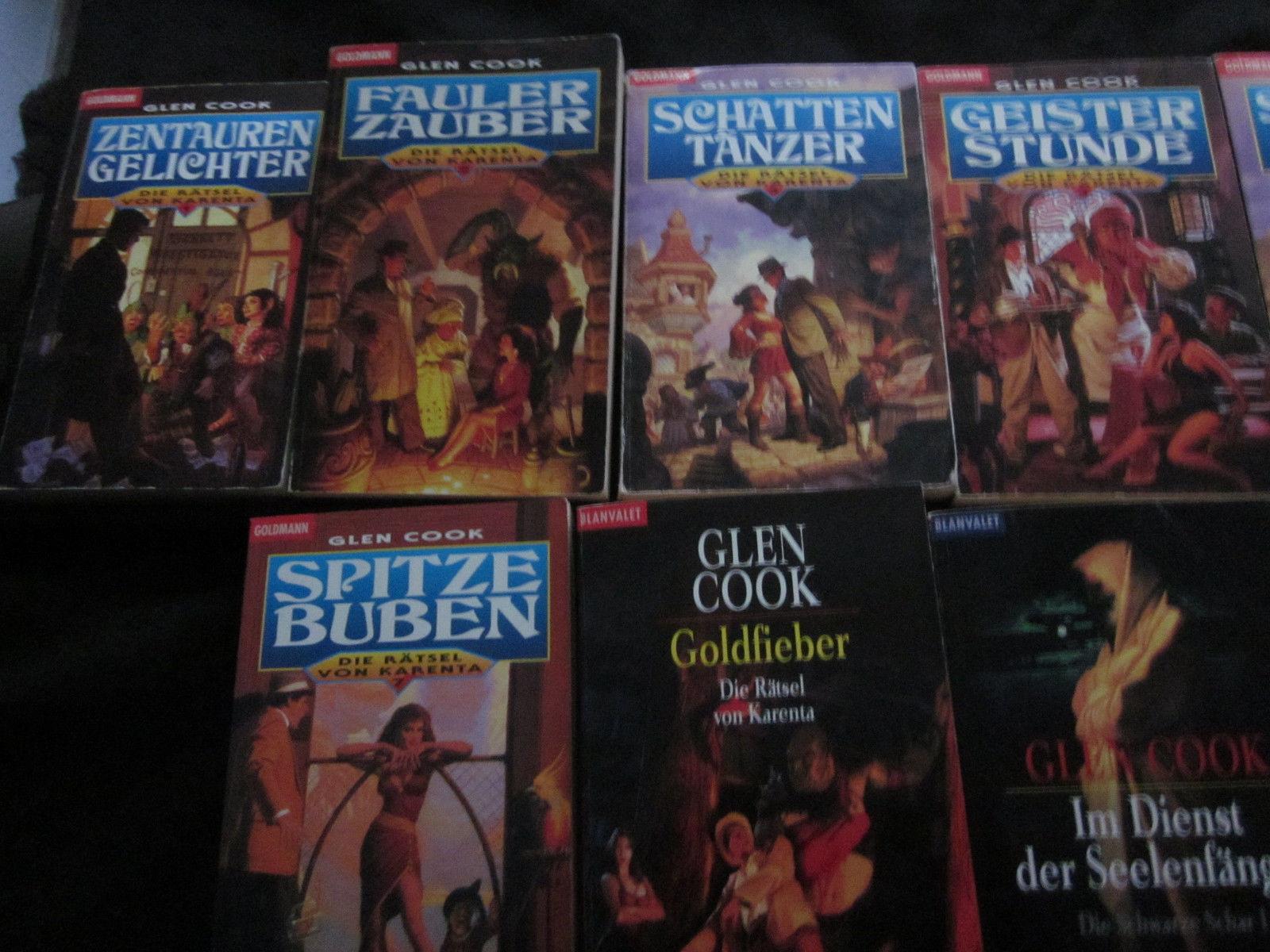 Glen Cook - Die Rätsel von Karenta und Die schwarze Schar