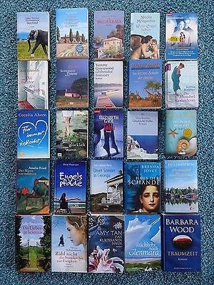 Bücherpaket 25 x Liebesromane Frauenromane: Ahern Fried Wood Lindström Peterson