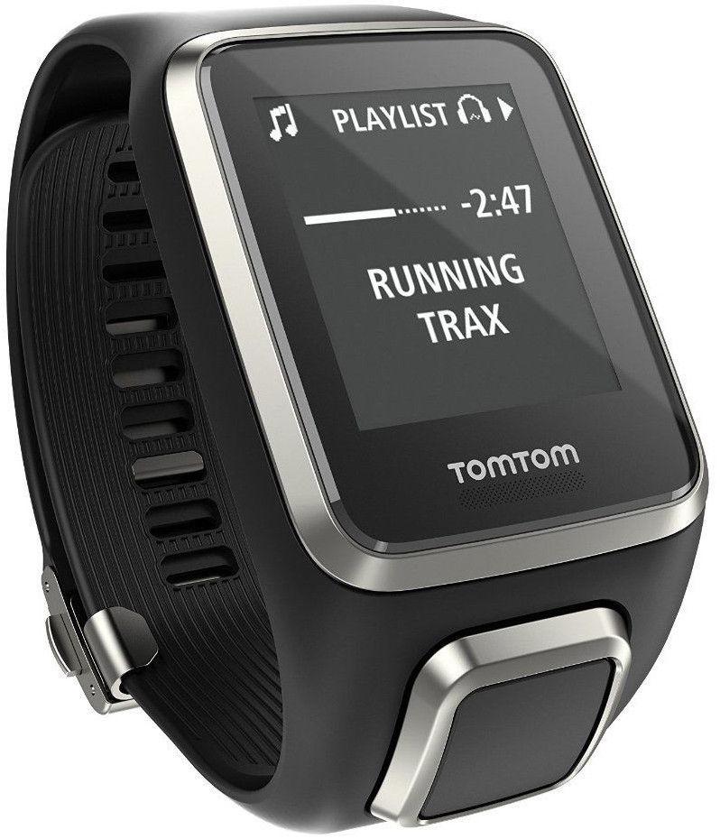 TomTom SPARK PREMIUM Cardio + Musik Multisport L Herzfrequenz + Golfer 2 Armband