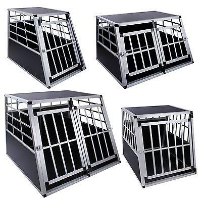 Aluminium Hundetransportbox Alu Hundebox Transportbox, 4 Grössen zur Auswahl