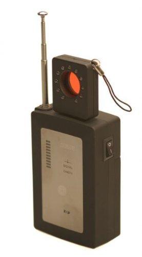 Spy Hawk maxi-tech 10g Grade Zähler Überwachung Pro Sweep 10GHz–Ausgestattet mit beiden RF Detection und eine Kamera Lens Finder. Handheld Bug Sweep Detektor