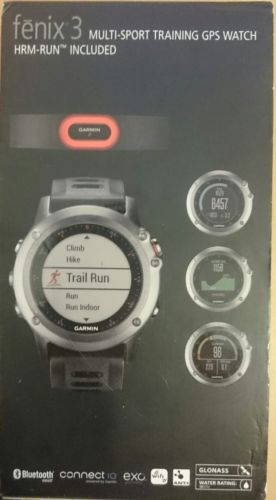 Garmin fenix 3 - Performer Bundle - GPS-Multisportuhr inkl. HRM-Run Brustgurt