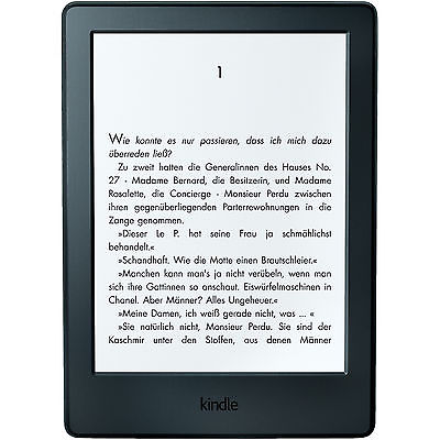 KINDLE (Version 2016) Ebook Reader, 15 cm (6 Zoll), 4 GB, 161 g