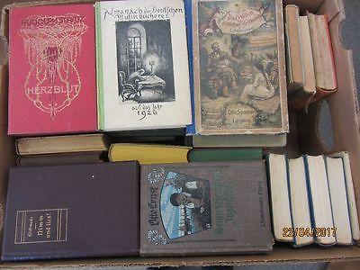 57 Bücher antiquarische Bücher