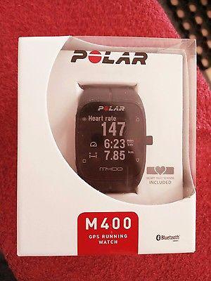 Polar M400 GPS Sportuhr mit Brustgurt Herzfrequenzsensor H7 NEU&OVP