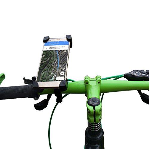 COOWOO Handyhalter für Fahrrad Universalhalterung für Fahrräder GPS Navigation Halterung auf Fahrrad