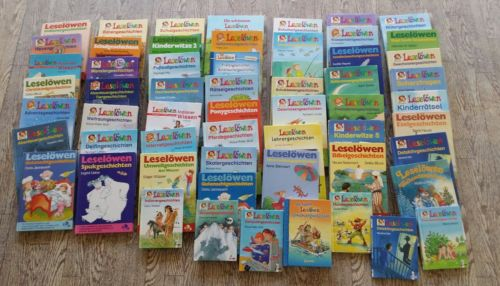 59 leselöwen bücher lesen lernen sammlung paket kinderbücher