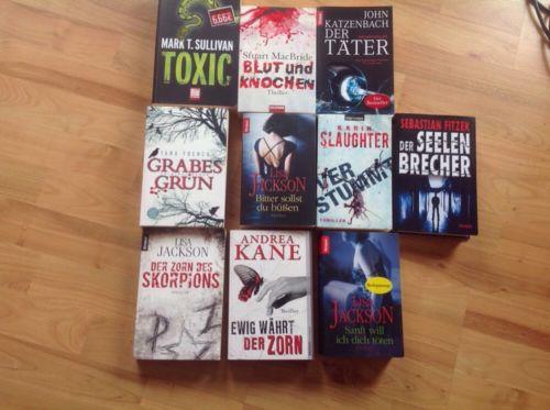 Büchersammlung Thriller