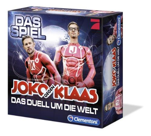 Clementoni 69021.3 - Joko und Klaas - Das Duell um die Welt, Brettspiel
