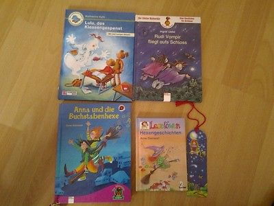 Bücherpaket Erstleser Antolin 1. + 2. + 3. Klasse 4 Kinderbücher - TOP -