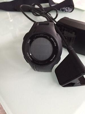 Garmin GPS Laufuhr Forerunner 210 HR inklusive HF-Brustgurt / top Zustand