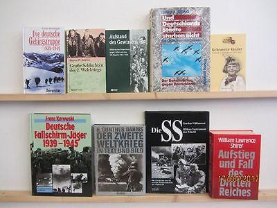28 Bücher Bildbände Dokumentation 2. WK 3. Reich NSDAP Nationalsozialismus