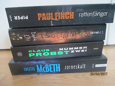 Bücherpaket  Taschenbücher Thriller, Krimis
