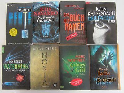 63 Bücher Romane Krimi Thriller Psychothriller  Top Titel Bestseller