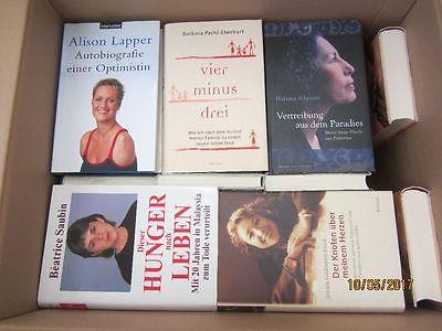 43 Bücher Schicksal Lebenstragödie Lebensgeschichte Biografie Autobiografie