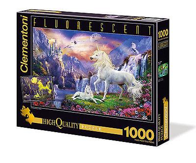 Puzzle nachtleuchtend 1000 Teile Einhorn 39285