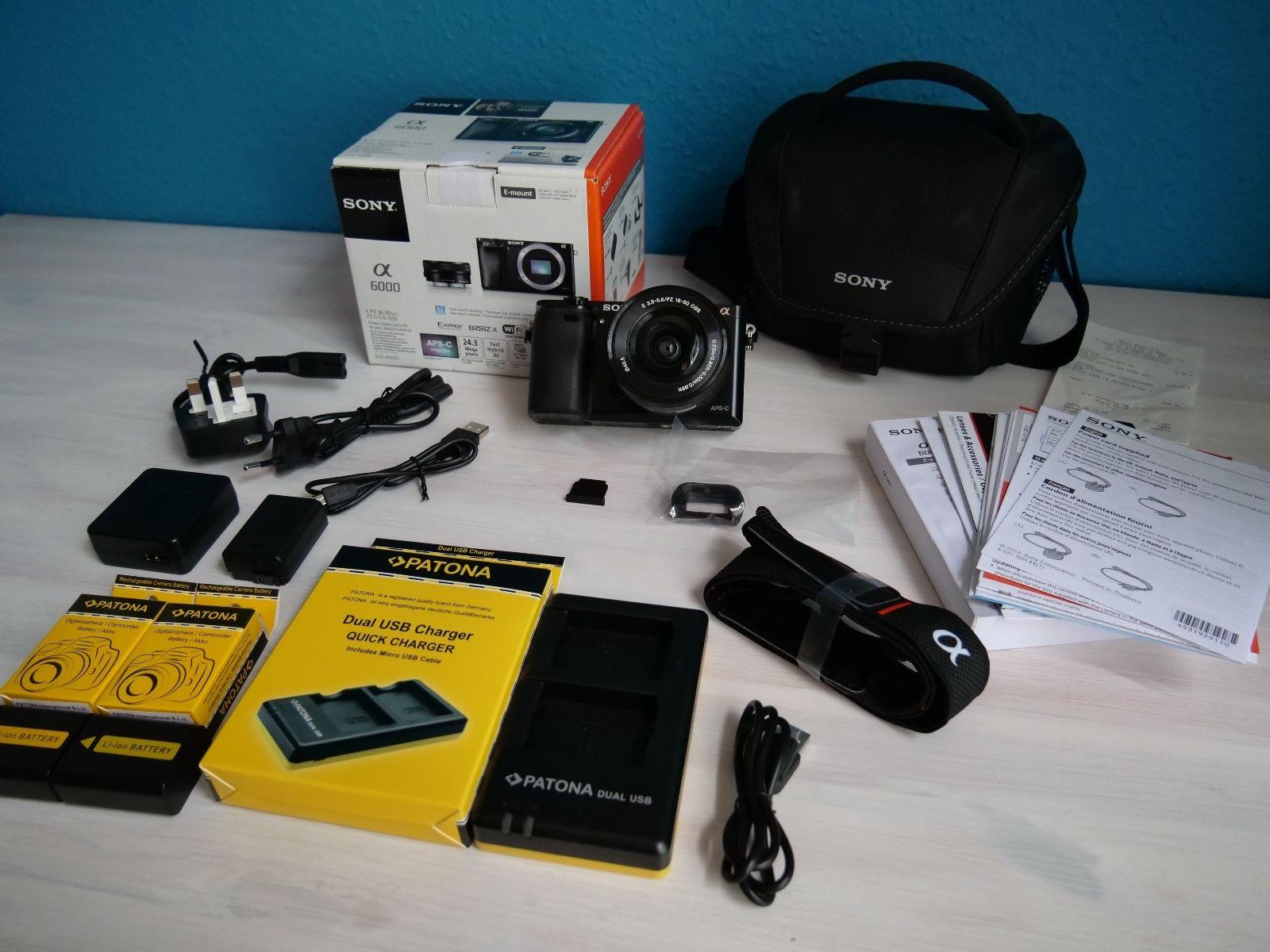 Sony Alpha 6000 Kit inkl. 16-50mm F3.5-5.6