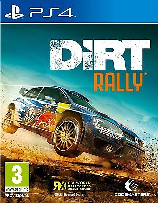 DiRT Rally PS4 BRAND NEW SEALED UK OFFICIAL