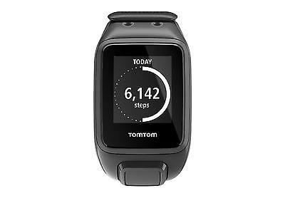 TomTom Runner 2 Cardio + Music L GPS-Uhr Laufuhr Sportuhr Schwarz *NEU&OVP*