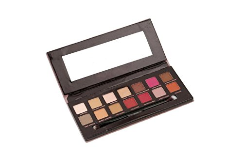 GODHL 12 Farben Lidschatten Palette Profi Augenpalette Makeup Eyeshadow Kosmetik