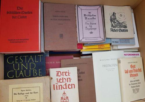 50 christliche Bücher, riesige Sammlung, Kirche, Testament, Bibel, Christentum