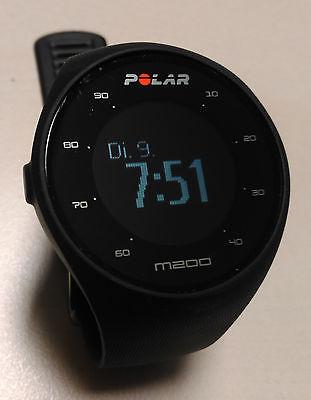 Polar M200, GPS, Laufuhr, mit Pulsmessung, Fitness,  Tracker, schwarz, neuwertig