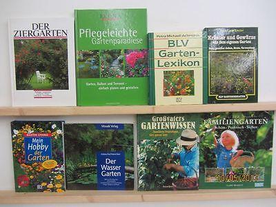 31  Bücher Garten gärtnern Gartengestaltung Gartenpflege Gartenkunst