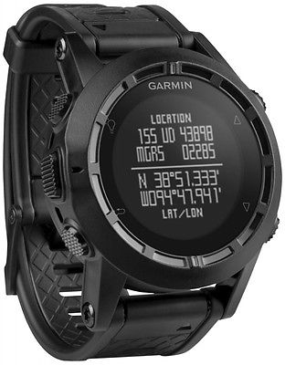 GARMIN TACTIX MILITARY WATCH GPS SMART WATCH UHR VIELE FUNKTIONEN SCHWARZ