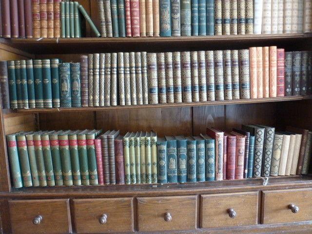 ca. 80 Bde Klassikerausgaben ca. 1880 - 1930