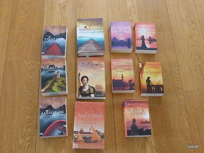Sarah Lark, Nicole Vosseler, Laila El Omari 11 Bücher Historische Romane