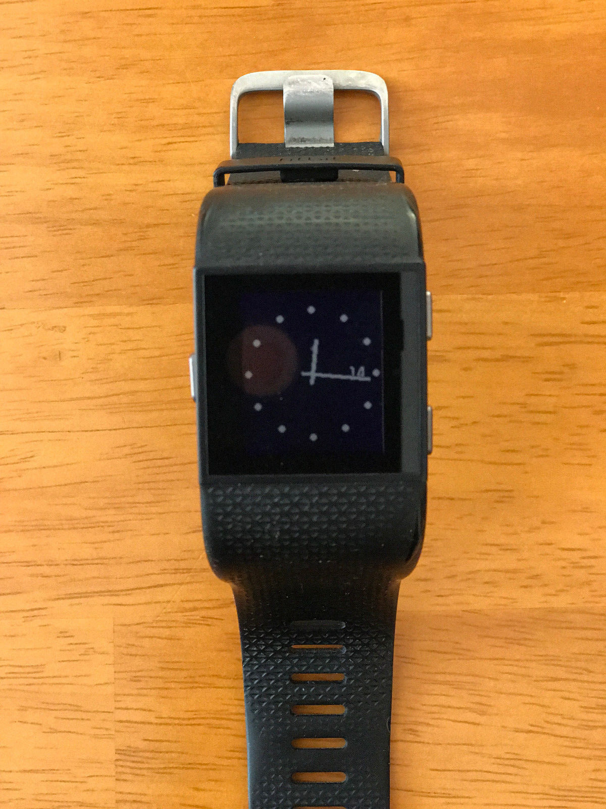 Fitbit Surge, Gr. S, Schwarz - sehr guter Zustand, keine Kratzer