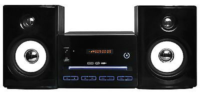 Musikanlage Kompaktanlage Mini Hi-Fi Anlage  Stereoanlage CD/MP3 USB RADIO NEU