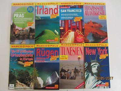 90  Bücher Marco Polo Taschenbücher Reiseführer  national und international