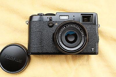 Fujifilm FinePix X Series X100T 16.3MP Digitalkamera - Schwarz, Restgarantie