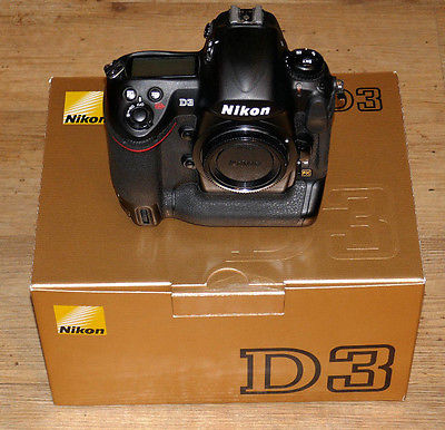 Nikon D3 Gehäuse in Originalverpackung  mit nur 44.650 Auslösungen !