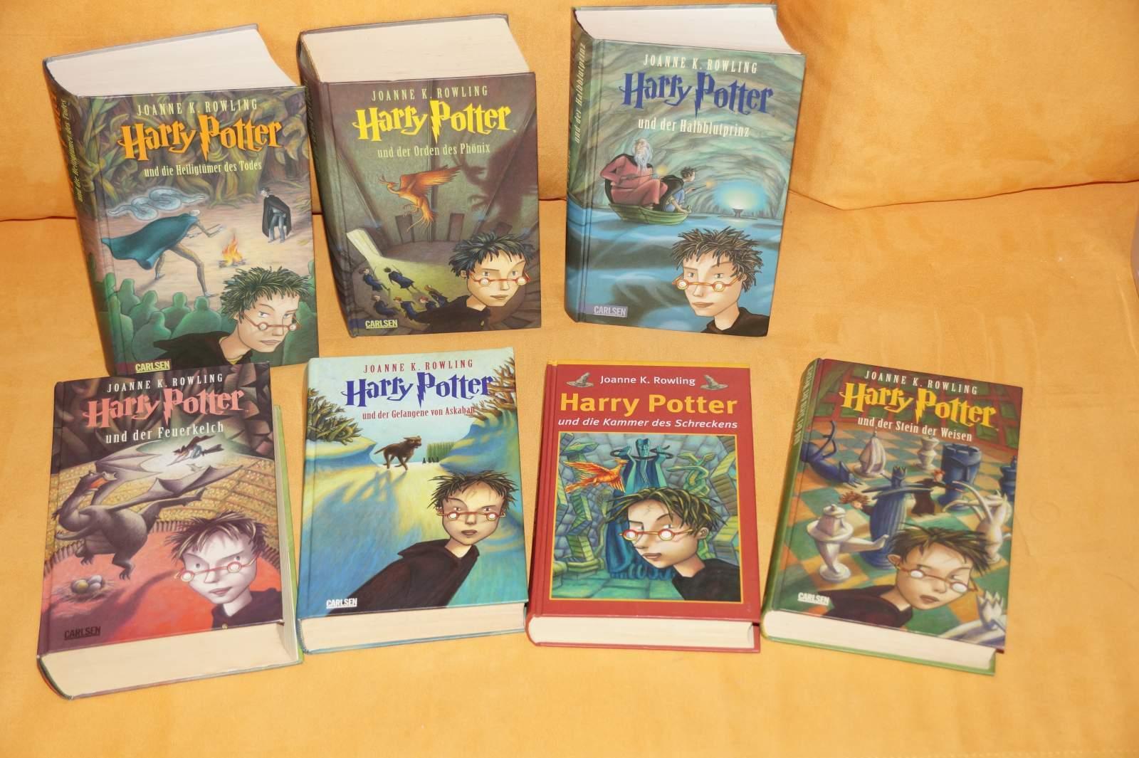 Harry Potter Band 1-7 - gebunden - deutsch