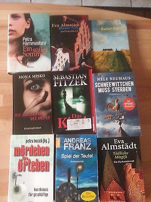 Bücherpaket deutsche Krimis Thriller