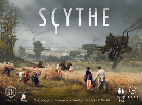 Scythe - Stonemaier Games - Brettspiel NEU