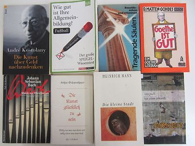 128 Bücher Taschenbücher verschiedene Verlage