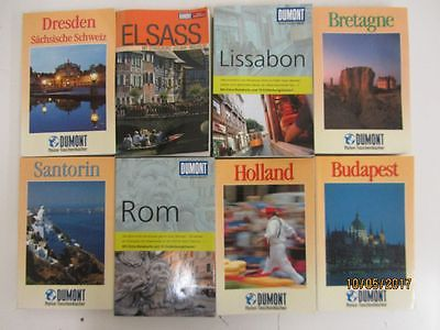 51 Bücher Taschenbücher DuMont Verlag DuMont Reiseführer