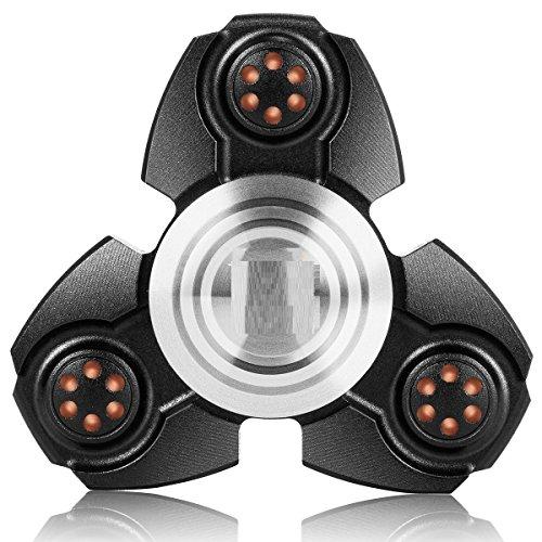 G-Hawk® Zink Legierung Tri Fidget Spinner Hand EDC Finger Spinner Spielzeug Stress Reducer Für ADD, ADHS, Angst und Autismus Erwachsene Kinder